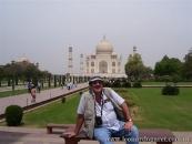 En el Taj Majal