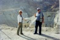 En Israel, frente a las Cuevas de Qumram, la nº 4