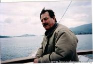 Navegando hacia la isla griega Poros