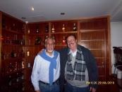 Con el Dr. José Antonio Pejovés, peruano, especialista en Derecho Marítimo y amante de las Letras