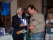 Con el embajador de Rusia en Uruguay, Sr. Serguey Koshkin, Mercado 18 de Julio, Salto, noviembre, de 2011