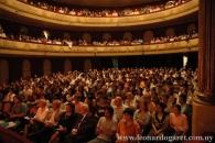 El Teatro el día de la presentación de El milagro incesante