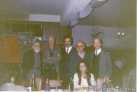 Con Noé Jitrik, Raúl Gadea y Jorge Laforgue, en Buenos Aires
