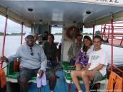 Navegando por el Pantanal. Abril de 2012.