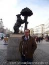 El oso, símbolo de la ciudad, Puerta del Sol, Madrid.