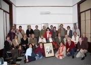 Firmantes para la solicitud de personería jurídica de la Asociación Marosa di Giorgio