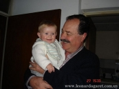 Con Ana Clara Frizzi Garet, su nieta
