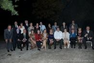 En una reunión familiar, con los primos Crescionini, Salto, 2010