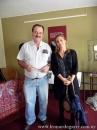 Con la profesora española María Rodero, Sala Marosa, Salto, 2010