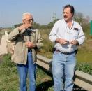 En el Saladito, Chaco, con Aledo Luis Meloni
