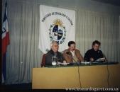 Con Jorge Arbeleche y Luis Bravo.