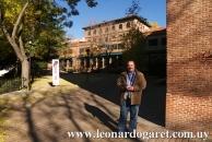 En la histórica Residencia de Estudiantes de Madrid.