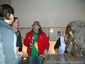 Con el presidente de la Fundación Erzia, de Moscú, en Casa Quiroga, Salto