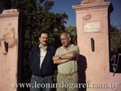 Con el periodista Alfredo López Períes, que iniciara esta página WEB.