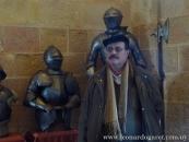 En el Alcázar de Segovia.