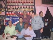Rodeando a Emilio Álvarez, junto a Rafael Bayce y Eduardo Giovannini
