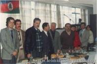En Porto Alegre, en 1991, con el poeta Raúl Mello, el Prof. Heriberto Núñez Da Rosa, el novelista brasileño Ciro Martins y el Gobernador de Río Grande Do Sul.