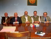 Academia Nacional de Letras, junto a Ricardo Pallares, Jorge Arbeleche, Wilfredo Penco y Adolfo Elizaincin