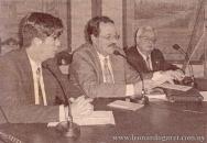 Ateneo de Salto, 2004. Con Hebert Benítez Pezzolano y Jorge Arbeleche.