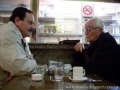 Con Aledo Luis Meloni, Resistencia, 2008